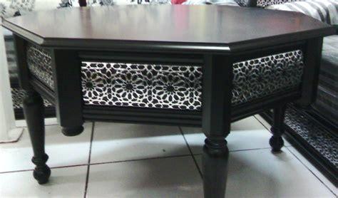 les tables en moucharabieh pour salon marocain d 233 cor