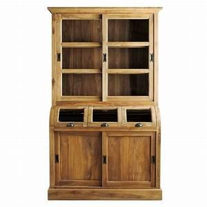 les 25 meilleures idees de la categorie vaisselier maison With lovely meuble de cuisine maison du monde 3 meuble salle de bains en bois massif