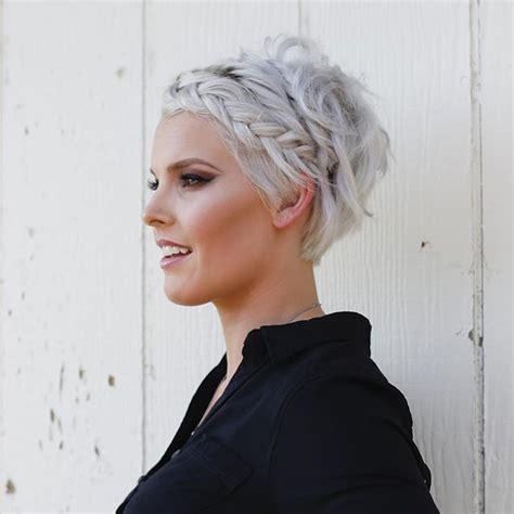 Best 25  Pixie braids ideas on Pinterest   Pixie updo
