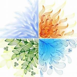 Tatouage 4 éléments : 4 l ments qui se compl tent arts visuels pinterest ~ Nature-et-papiers.com Idées de Décoration
