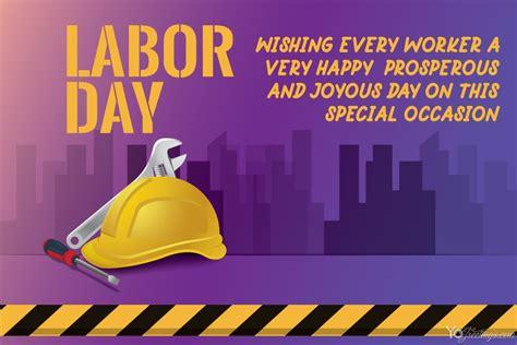 design custom labor day images card
