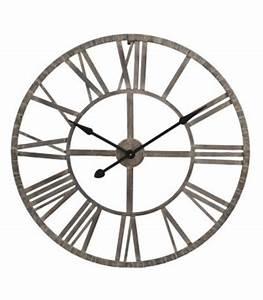 Horloge Murale Grise : horloge murale pendule murale horloge design horloge ancienne ~ Teatrodelosmanantiales.com Idées de Décoration