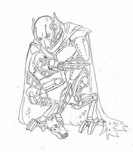 General Grievous Coloring Pages Printable Coloring Home