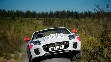 Tear Through The Dirt In The Jaguar F-type Rally Car