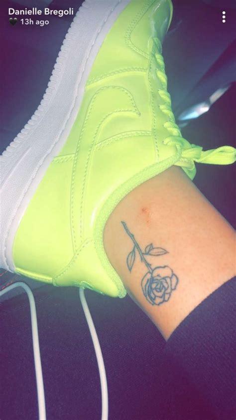 danielle bregoli rose ankle tattoo steal  style