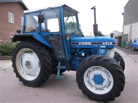 Used Ford 4610 Ii Tractors Year 1987 For Sale  Mascus Usa