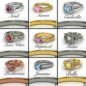disney wedding rings disney princess engagement rings a trace of