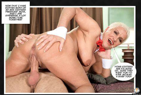 Fit Sister Impregnated By Older Son Retro Captions