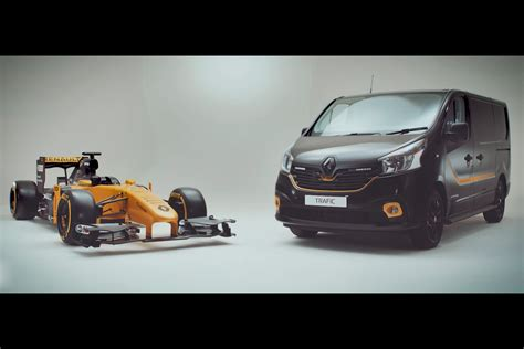 renault f1 van how f1 tech keeps renault vans in pole position auto express