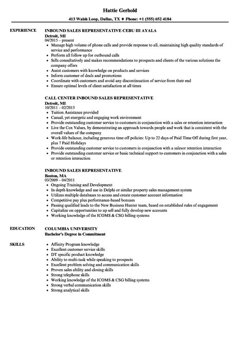 Best Ideas Of Inside Sales Rep And Telemarketing Sample Resume