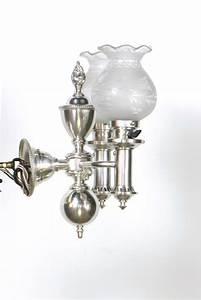 Silver, Plate, Argand, Sconces, U2013, A, Pair, U2013, Appleton, Antique, Lighting