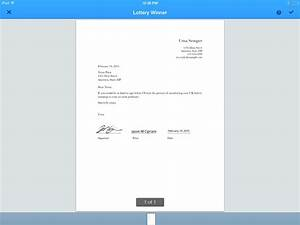 5 apps for signing documents with your iphone and ipad for Sign documents app free