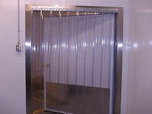 Cooler And Freezer Strip Doors