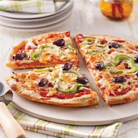 cuisine santé express pizza maison toute garnie recettes cuisine et nutrition pratico pratique