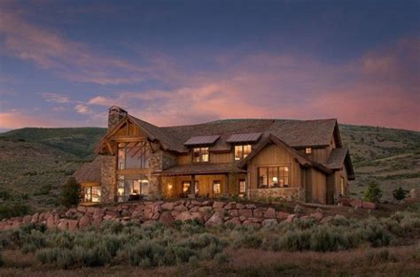 rustic mountain house exterior design ideas style motivation