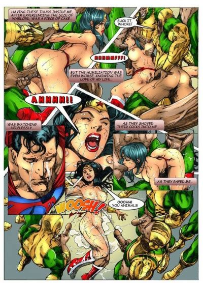 Wonder Woman vs Warlord (Superman) | Sex & Porn Comics
