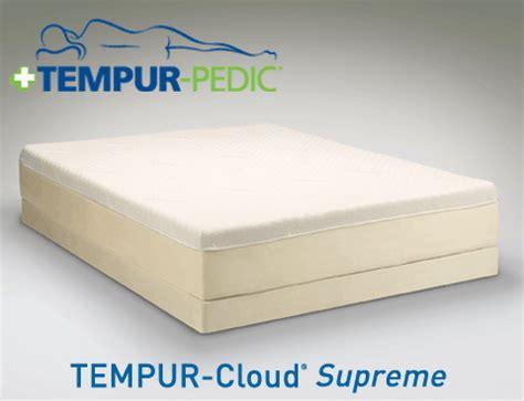 mattress cloud supreme mattress by tempur pedic tempur cloud supreme mattress by tempur pedic Nyc