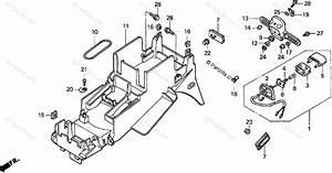 Honda Motorcycle 1998 Oem Parts Diagram For Rear Fender