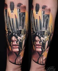 Makeup Artist's Tattoo     Pinterest   Tattoo, Makeup and ...