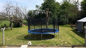 Filet De Protection Jardin : classy filet de protection jardin concernant trampoline de jardin rond 460cm filet de ~ Dallasstarsshop.com Idées de Décoration