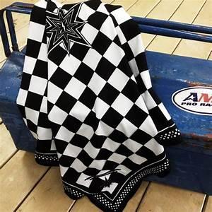 Damier Noir Et Blanc : foulard sunday speedshop damier ace noir blanc foulard ~ Dallasstarsshop.com Idées de Décoration