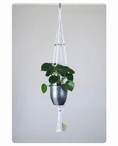 Suspension Pour Plante Interieur : suspension macram pour plante bymadjo diva d co ~ Teatrodelosmanantiales.com Idées de Décoration