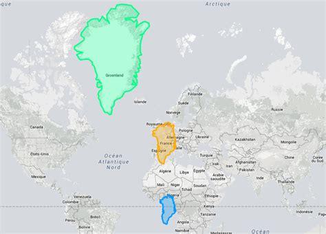 La Vrai Carte Du Monde by Voici La Vraie Taille De Ces Pays Lorsque Vous Allez Voir