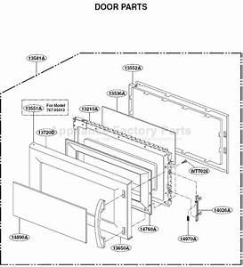 35 Kenmore Microwave Parts Diagram
