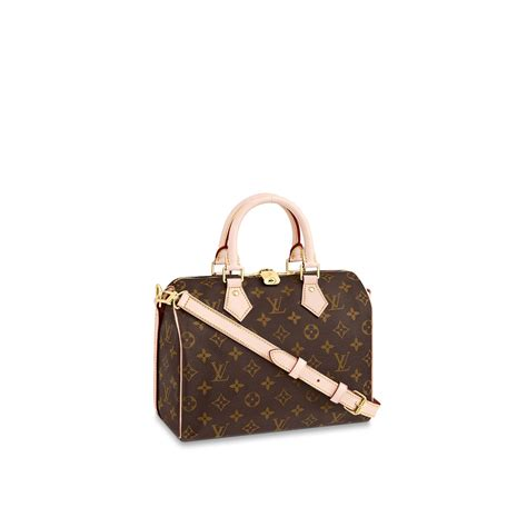 speedy bandouliere  monogram canvas handbags louis vuitton