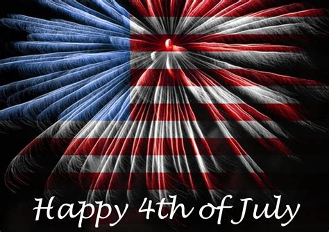 Happy 4th July  Calendar And Images