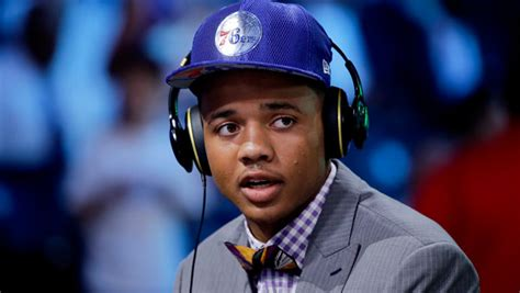 Markelle Fultz steps out in shoes made of basketballs ...