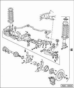 Volkswagen Workshop Manuals  U0026gt  Passat  B3   U0026gt  Running Gear