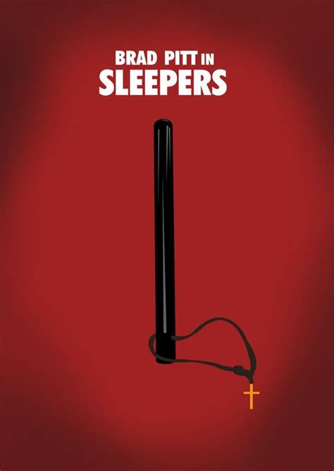 Sleepers Poster by Sleepers 1996 Minimal Poster By Jan Wurtmann