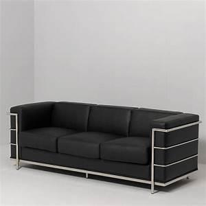 Canape Cuir Noir : photos canap cuir noir ~ Teatrodelosmanantiales.com Idées de Décoration