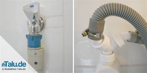 Waschmaschine An Spüle Anschließen by Waschmaschine Anschlie 223 En Anleitung F 252 R Zulauf Abfluss