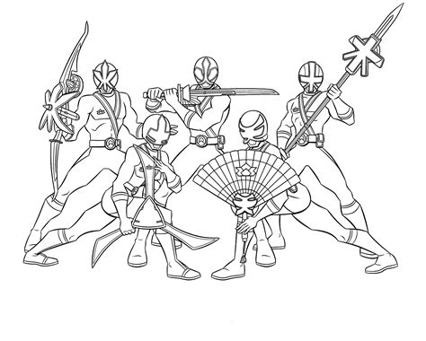 Free Coloring Pages Of Power Rangers Mega
