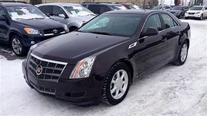 Pre Owned 2008 Cadillac Cts Sedan Maroon Black Cherry Review