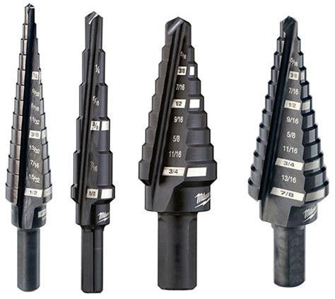 New Milwaukee USA-Made Step Drill Bits