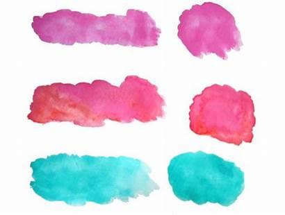 Clip Watercolor Splotches Sun Comes Form