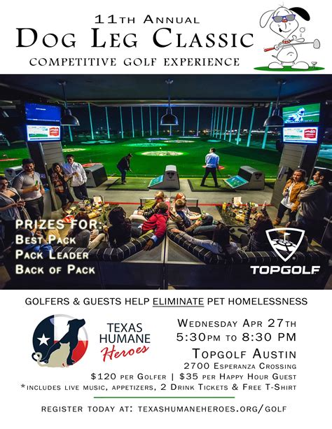 Enjoy fun at TopGolf- Austin and help homeless pets! www ...