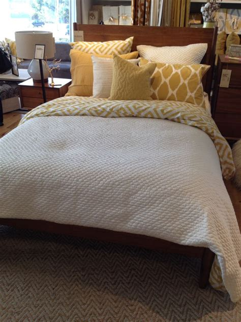 west elm comforter west elm bedding setup for the home yellow