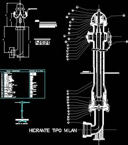 Detail Water Tap From Firefighters DWG Detail for AutoCAD