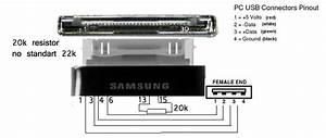 Galaxy Tab Diy Usb Host Dongle   Pinout Cable And