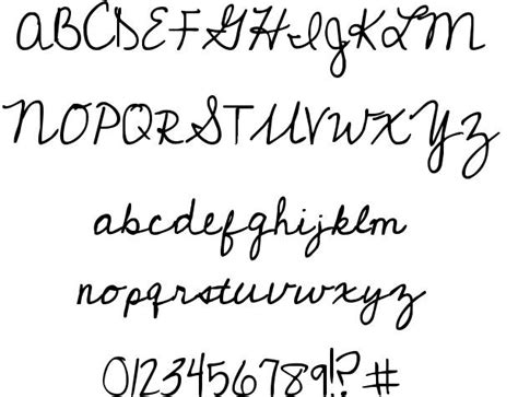 pin font 1 cursive on pinterest