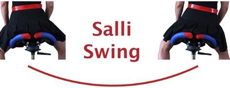 salli care swing split saddle seat ergonomic chair stop