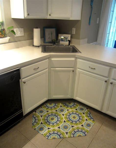 mat for kitchen sink best 25 corner kitchen sinks ideas on 7397