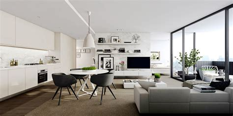 Interior Modern House Designs Inspiration by Studio Apartment Interiors Inspiration