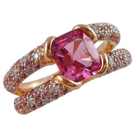spine l for sale jona pink spinel sapphire gold ring for sale at