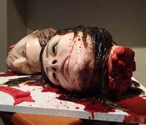 wedding anniversary ideas horror wedding cake
