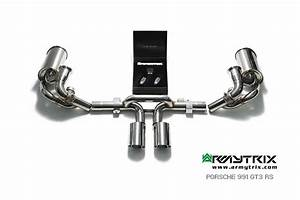 Porsche 991    991 2 Gt3 Rs Armytrix Valve Racing Exhaust Mods Best Performance Upgrades